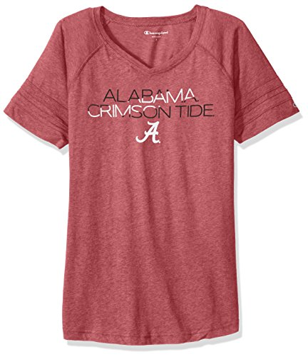 Ladies Crimson Fan - NCAA Alabama Crimson Tide Women's Triumph T-Shirt, Medium, Cardinal