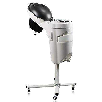 Profesional El Pelo Vapor Secadora Con De Pie Salon Colorear Procesador Ajustable La Temperatura Rodando Ruedas