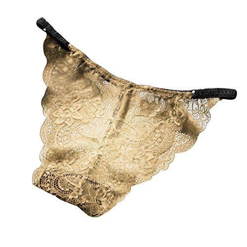 HYIRI Slim G-String Briefs,Women's Sexy Lace Panties Lingerie Underwear Knickers