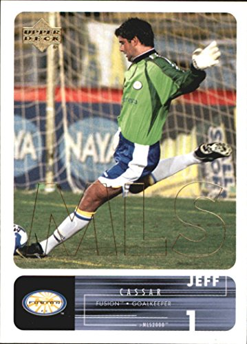 2000 Upper Deck MLS #54 Jeff Cassar - NM-MT