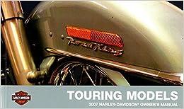 99466-07 2007 Harley Davidson Touring Motorcycle Owners Manual