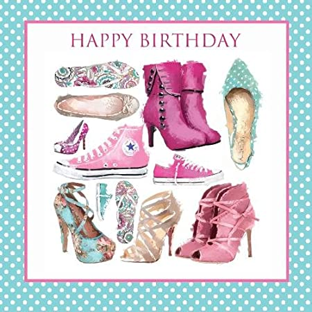 Happy Birthday Shoes Boots Trainers Heels Pumps Design Female Happy