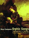Orphic Songs (City Lights Pocket Poets Series) (Italian Edition)