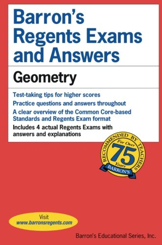 Regents Exams and Answers: Geometry (Barron's Regents Exams and Answers) cover