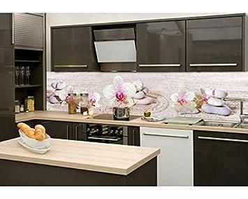 Küchenrückwand Folie selbstklebend ZEN GARTEN 260 x 60 cm ...