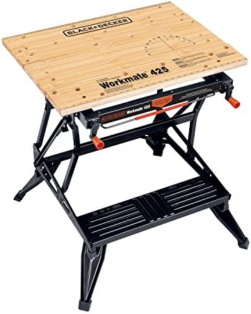 Black Decker Workmate Portable Workbench 425 To 550 Pound Capacity Wm425 Amazon Com