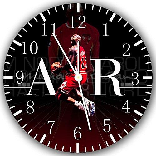 Jordan Frameless Borderless Wall Clock X39 Nice For Gift or Room Wall Decor (Jordan Wall Clock)