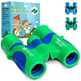 Toys : EvoCrest Binoculars for Kids w/ Shock Proof Rubber Body – 8x21 High Resolution Lenses w/ Clear Focus Perfect for Bird Watching, Outdoor Play, Educational Learning – Toys for Boys and Girls