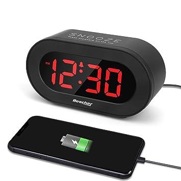 Amazon.com: Reacher - Reloj despertador: Electronics