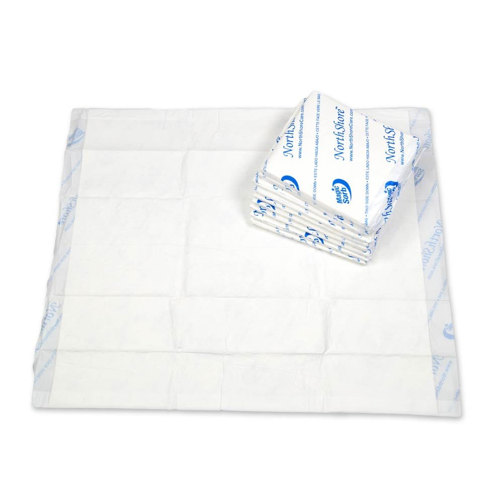 NorthShore MagicSorb Air, 30 x 36, 60 oz., Disposable Underpads, X-Large, Pack/10 by NorthShore (Image #1)