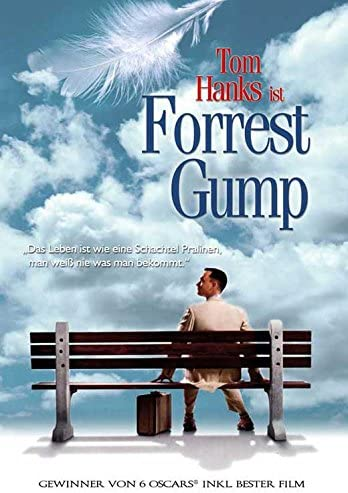 Amazon Com Forrest Gump Poster Movie 11 X 17 Inches 28cm X 44cm 1994 German Style A Posters Prints