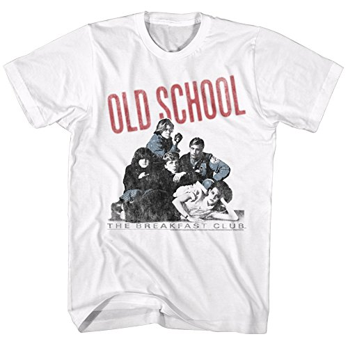 2Bhip Breakfast Club Movie Old School Adult T-Shirt Tee ()