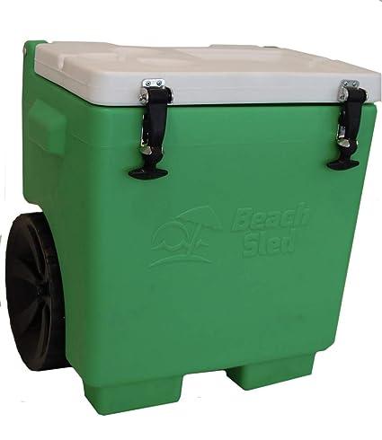 Amazon.com: Playa Sled 30 Quart Cooler – con ruedas – Cooler ...