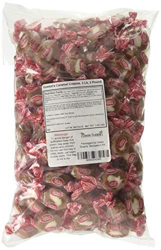 - Goetze's Caramel Creams, 3 Lb, 3 Pound