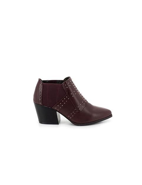 Botin Maria Mare Burdeos 61955 37 Rojo: Amazon.es: Zapatos y complementos