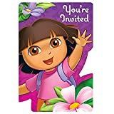 DORAS FLOWER ADVENTURE INVITATIONS (SET OF 8)