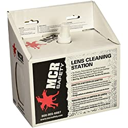 MCR LCS1 Crews Disposable Lens Cleaning Station 8 Oz with Tissues