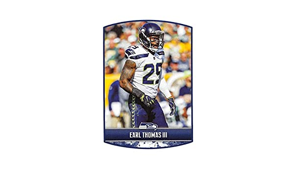 Amazon.com  2018 Panini NFL Stickers Collection  434 Earl Thomas III Seattle  Seahawks Official Football Sticker  Collectibles   Fine Art aa1933208