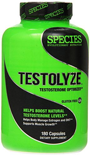 Species Nutrition Testolyze, 180 Count