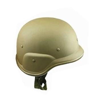 Woopower Casco de camuflaje de plástico para casco de motocicleta, gorro, gorro, traje, táctica, militar, ejército, combate, cc, cascos del ejército ...