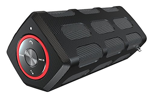 Why Should You Buy Villain - Portable Water Resistant Bluetooth Speakers with 20-Hour Playtime - Ste...