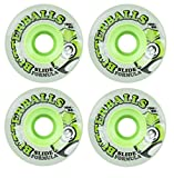 Sector 9 Butterballs 70mm 75a (Green, Translucent) Skateboard/Longboard Wheels