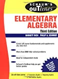Schaum's Outline of Elementary Algebra, Barnett Rich and Philip Schmidt, 007141083X