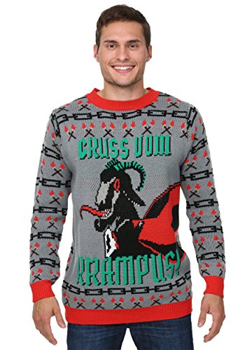Krampus Christmas Sweater - 2X