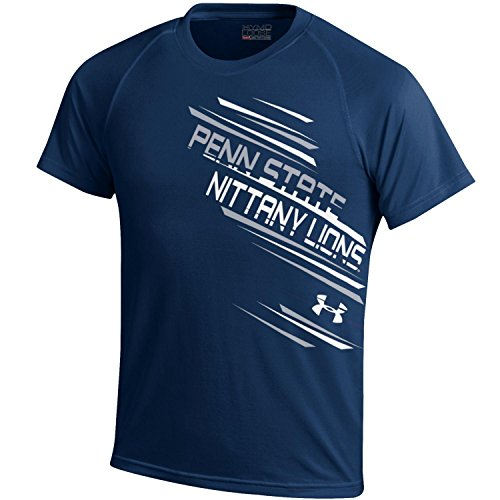 NCAA Penn State Nittany Lions Youth Tech Tee, Navy, Large
