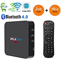 MX Pro Android7.1 LHHY MX Pro Amlogic S905 Chipset Lollipop Os Android Box 2GB/16GB Quad Core 4K Google with WiFi HDMI DLNA Smart TV Box