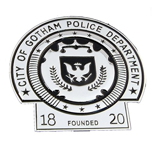 City Of Gotham Police Department Badge Replica - City Badge