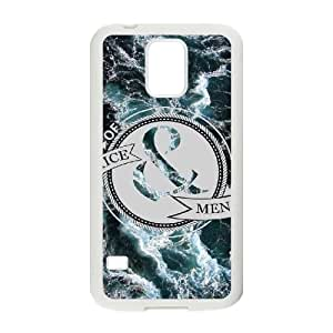 Personalized Durable Case Cover for SamSung Galaxy S5 I9600 with Brand New Design Of Mice & Men BY supermalls