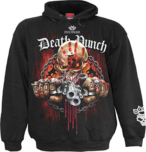 - Spiral - Mens - 5FDP - Assassin - Licensed Band Hoody Black - XL