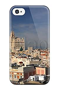 darlene woodman Morgan's Shop 8623017K62855662 New Diy Design Madrid City For Iphone 4/4s Cases Comfortable For Lovers And Friends For Christmas Gifts