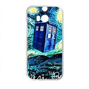 Happy Bohemian beat Starry night scenery Cell Phone Case for HTC One M8