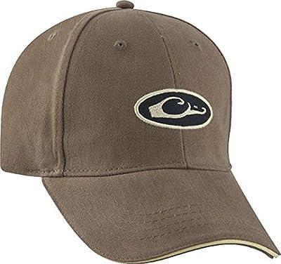 Drake Waterfowl Oval Logo Six Panel Adjustable Formed Hat