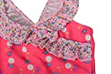 Dalary Baby Girl's Retro Floral One Piece Swimsuit