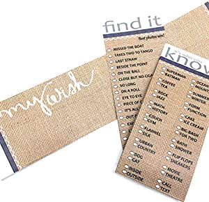 10 unique games fall baby shower games gender reveal ideas bachelorette party games neutral burlap activity cards for large group wedding birthday