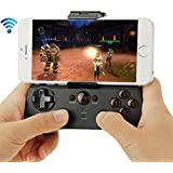 ipega PG-9017S Multi-media Bluetooth Gamepad for iPhone / iPad / iPod / Samsung / HTC / MOTO / Android TV Box / Android TV / PC(Black)