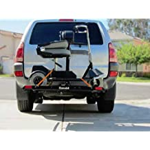 Electric Power Scooter & Power Wheel Chair Hitch Mounted Lift Mobility Carrier Rack Universal Outside Scooter Powerchair Lifter Transport