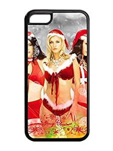 Iphone 5C Case,Christmas Lingerie Girl Iphone 5C TPU Silicone Cases,Phone Case Apple Iphone 5C Soft Skin Case