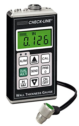 Checkline TI-25M-MMX Through Paint Ultrasonic Wall Thickness Gauge Complete Kit