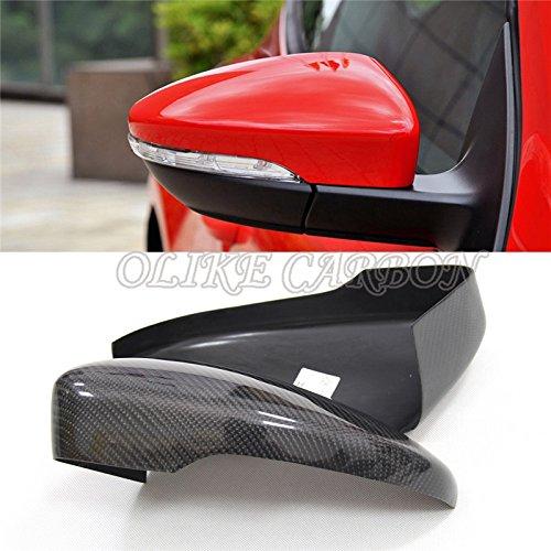 (Carbon Fiber Rear Side Mirror Cover for VW Scirocco MK3 VW Passat CC VW CC 2008-2017 VW EOS 2006-2015 Sticker)