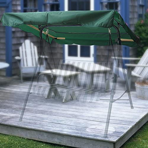 Yescom 72 1 2 x 53 1 2 Outdoor Swing Canopy Replacement UV30 180gsm Top Cover