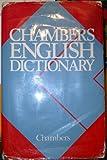 Chambers English Dictionary, , 0550102507
