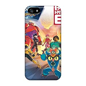 Shock Absorption Hard Phone Cover For Iphone 5/5s (dJO16164ZCCU) Allow Personal Design Fashion Big Hero 6 Pattern