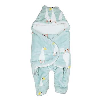 Saco de Dormir con Piernas Separadas para Bebé Recién Nacido Infantil, Mantita Envolvente Multiusos Manta