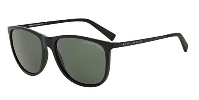 3224e8f5e51c0 Amazon.com  Armani Exchange Men s 0ax4047sf Square Sunglasses matte ...