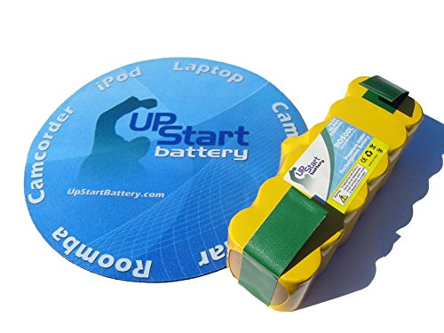 iRobot Roomba 540 - AeroVac Battery - Replacement for iRobot 80501 Robotic Vacuum Cleaner Battery (2000mAh, 14.4V, NICD)