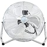 Super Deal 18/20 Silver High Velocity Cradle Floor Fan (18)